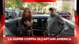 28/03/2014 - Sky Cine News incontra Scarlett Johansson e Chris Evans