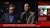 31/03/2014 - Elton John annuncia le nozze, ma senza stravaganze