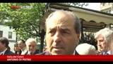 01/04/2014 - Morte D'Ambrosio, le parole di Di Pietro, Pisapia e Bersani