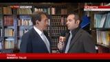 02/04/2014 - L'Aquila, Cilente a Sky TG24: 150 i cantieri aperti