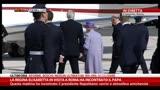 03/04/2014 - Roma, la Regina Elisabetta II riparte per Londra