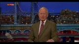 L'addio di David Letterman, in pensione dal 2015