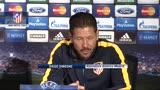 """Atl. Madrid, Simone: """"Diego Costa titolare solo se al 100%"""""""