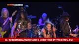 Gli Aerosmith annunciano il loro tour estivo con Slash