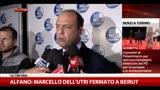 """12/04/2014 - Alfano: """"Marcello Dell'Utri fermato a Beirut"""""""