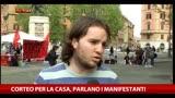 12/04/2014 - Oggi corteo per la Casa, parlano i manifestanti