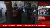12/04/2014 - Scontri Roma, 21 feriti e 6 manifestanti fermati