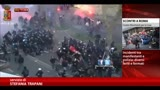 13/04/2014 - Scontri Roma, 21 feriti e 5 manifestanti fermati