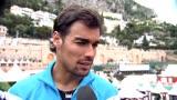 16/04/2014 - ATP Montecarlo, Fognini post Bautista