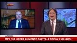 MPS, Viola: con aumento capitale no nazionalizzazione