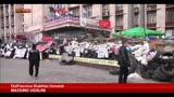 21/04/2014 - Ucraina, a Donetsk posti di blocco per impedire rifornimenti