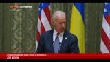 22/04/2014 - Ucraina, Joe Biden a Kiev: Russia ritiri truppe dal confine