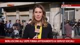 23/04/2014 - Berlusconi all'UEPE firma affidamento ai Servizi Sociali