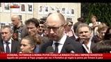 """26/04/2014 - Ucraina, Yatseniuk: """"Putin vuole rinascita Impero Sovietico"""""""