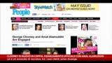 27/04/2014 - George Clooney, fidanzamento ufficiale con Amal Alamuddin