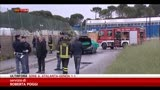 27/04/2014 - Pescara, uomo si dà fuoco con la figlia in auto
