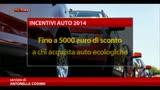 29/04/2014 - Auto, dal 6/5 al via nuovi incentivi per veicoli ecologici