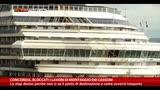 30/04/2014 - Concordia, bloccati i lavori di montaggio dei cassoni