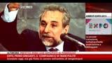 """08/05/2014 - Expo, Primo Greganti, """"il compagno G"""" di Mani Pulite"""