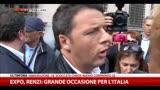 Renzi: Expo, grande occasione per l'Italia