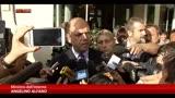 12/05/2014 - Lampedusa, Alfano: l'Europa non ci sta aiutando