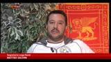 Salvini: No all'Euro, migliaia di imprenditori sono contrari