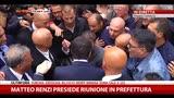Reggio Calabria, Renzi contestato davanti alla prefettura