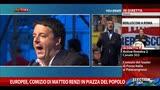 22/05/2014 - Europee, comizio di Matteo Renzi in piazza del Popolo
