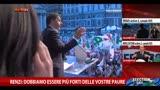 22/05/2014 - Renzi: dobbiamo essere più forti delle vostre paure