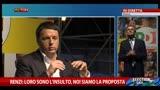 22/05/2014 - Renzi: loro sono l'insulto, noi siamo la proposta