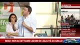 23/05/2014 - Europee, Renzi: non accettiamo lezioni di legalità da Grillo