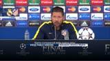 """Simeone: """"Il mio Atletico, forte e compatto"""""""