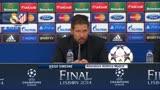 Real Campione d'Europa, le parole di Diego Simeone