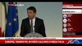 Europee, conferenza stampa di Renzi