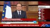 """27/05/2014 - Europee, Hollande: """"Dal voto una verità dolorosa"""""""