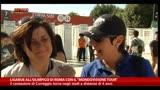 """30/05/2014 - I fan di Ligabue, all'Olimpico con il """"Mondovisione Tour"""""""