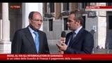 Tangenti Mose, parla Renato Schifani (Ncd)