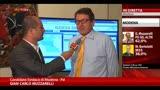 Amministrative Modena, intervista a Gian Carlo Muzzarelli