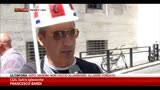 11/06/2014 - Alcoa, protesta davanti al Ministero Sviluppo Economico