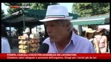 23/06/2014 - Cancelli chiusi a Pompei, le parole dei turisti