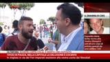 25/06/2014 - Tifosi in piazza, nella capitale la delusione è cocente