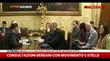 25/06/2014 - Consultazione Bersani-M5S del 27 marzo 2013