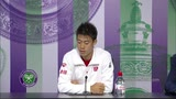 """26/06/2014 - Wimbledon, Nishikori: """"Ho giocato un match quasi perfetto"""""""