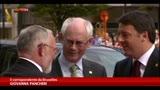 27/06/2014 - Consiglio UE, intesa dopo breve battibecco Renzi-Merkel