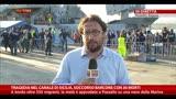 30/06/2014 - Tragedia canale di Sicilia, soccorso barcone con 30 morti