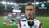 """09/07/2014 - Klose: """"Ancora non mi rendo conto di quanto abbiamo fatto"""""""