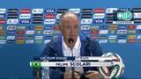 09/07/2014 - Brasile umiliato: le scuse di Scolari