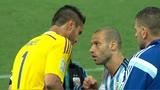 10/07/2014 - Argentina-Olanda, via ai rigori: Mascherano carica Romero
