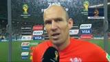 10/07/2014 - Olanda, tutta la delusione di Robben