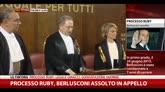 18/07/2014 - Processo Ruby, Berlusconi assolto in Appello. La sentenza